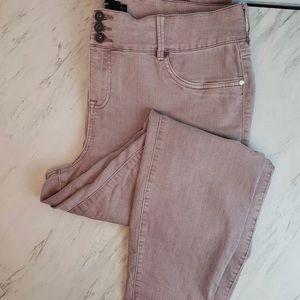 Torrid 22R lilac leggings Like New